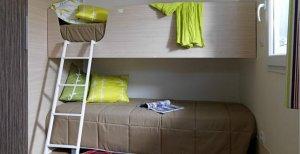Cottage Vivario  PMR chambre lits superposé location