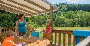 Cottage Suite Privilège terrasse vue nature paysage location